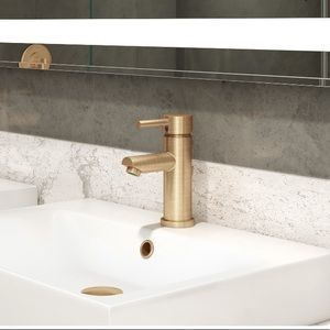 Brushed Bronze Faucet
